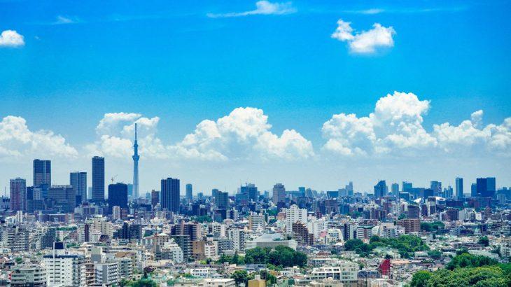 《 東京の遠望 》