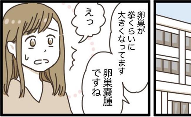 「生理痛がひどくて……助かった!?」30代で卵巣嚢腫が判明→手術
