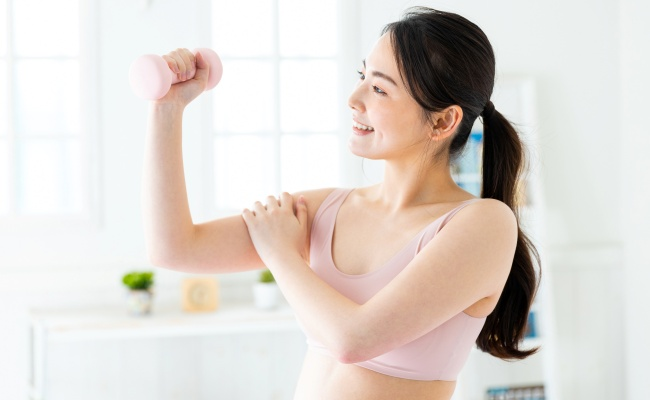 女性 筋肉