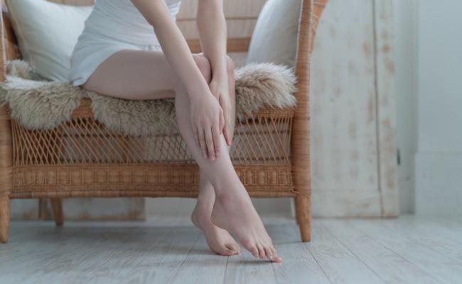 脚痩せ 女性