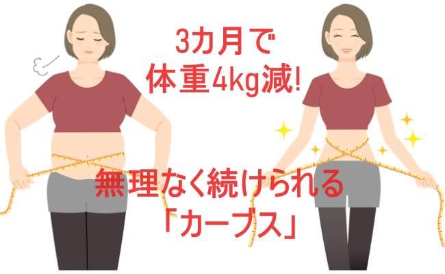 3カ月で体重4kg減!気になっていた「カーブス」に行ってみた【体験談】